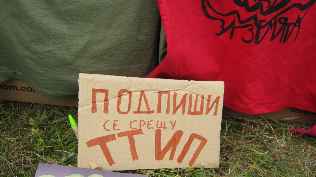 подписка срещу TTIP - в Родопите